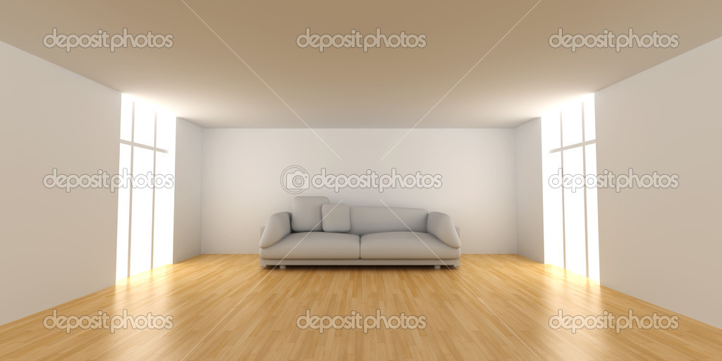 white sofa in an empty room stock photo spectral 3145962