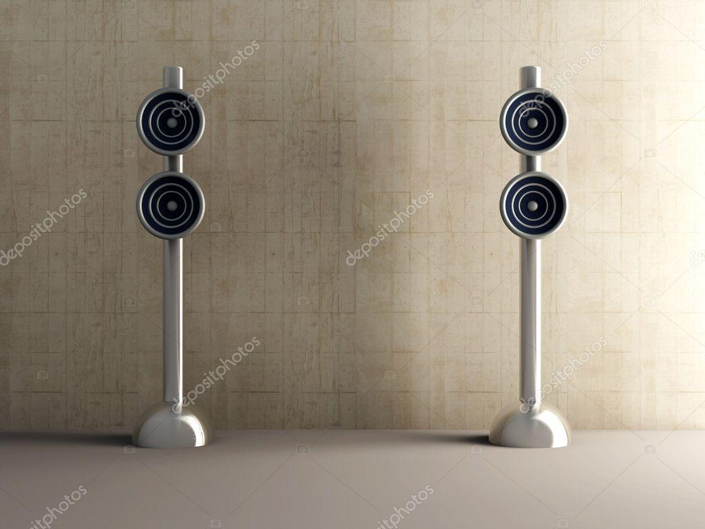 design speakers — stock photo © spectral #3517821