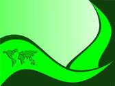Fényképek Zöld névjegykártya sablon