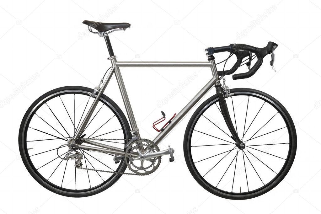 isolierte leichtes Race Fahrrad — Stockfoto © rudyumans #3795902