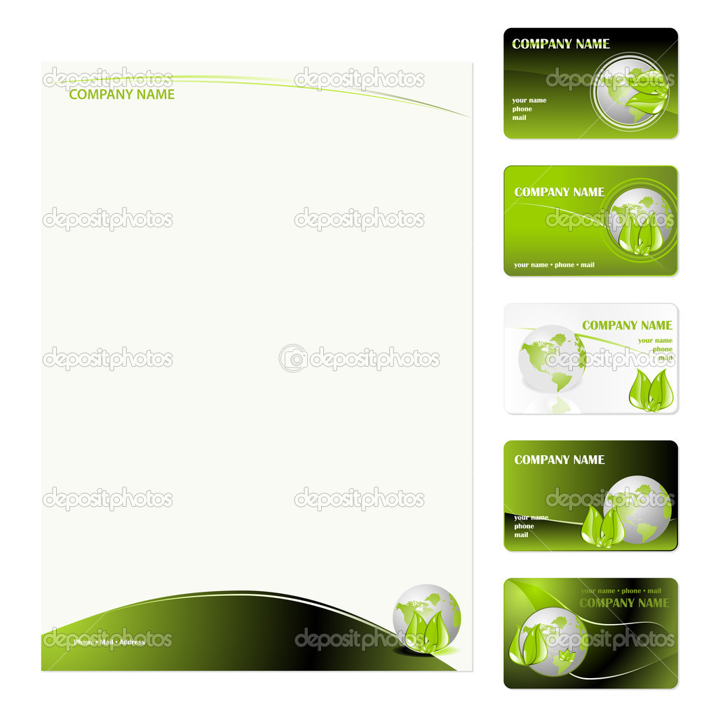 business cards template stock vector simas2 3819707