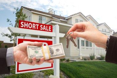 Handing Over Cash For House Keys and Short Sale