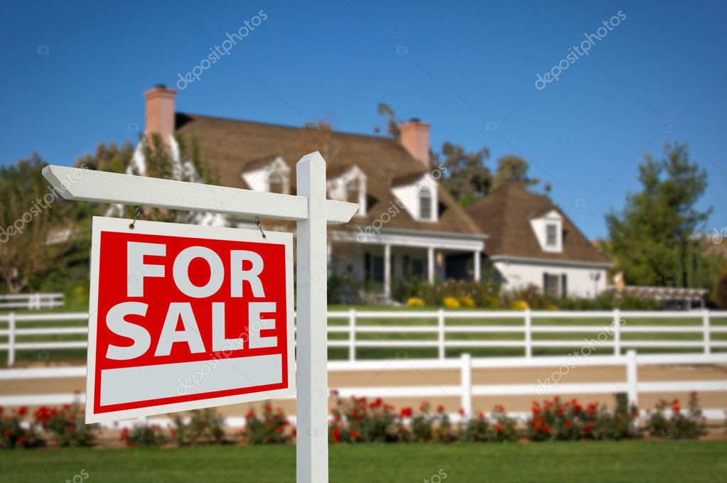 For sale sign in front of house stock photo feverpitch for Multigenerational homes for sale
