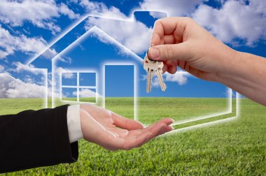 Handing Over Keys on Ghosted Home Icon