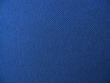 Texture of blue fabric