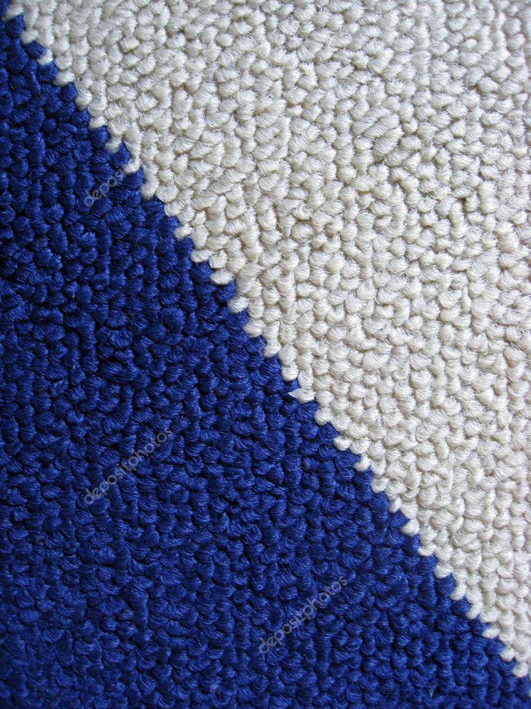 alfombra azul y blanca — fotos de stock © ibphoto #3391139