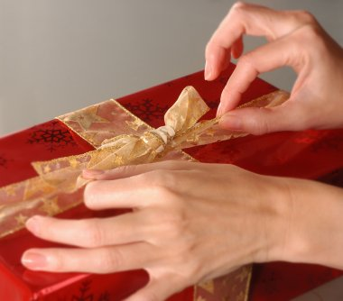Wrapping present