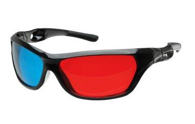 3d glasses side