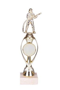 Gold award for best fireman