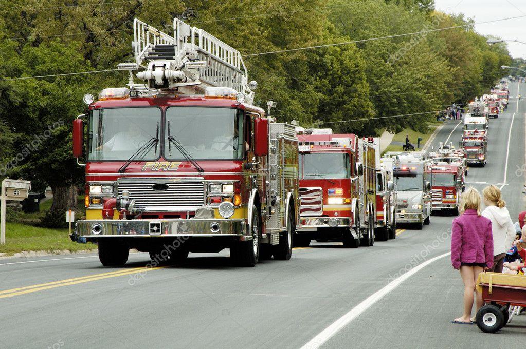 Fire Truck Parade 8 — Stock Photo © photojimdp #2943658