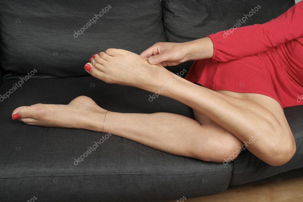 pijnlijke benen en voeten
