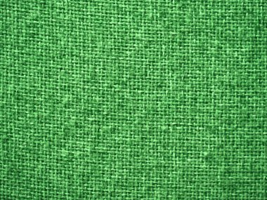 Burlap Green Fabric Texture Background