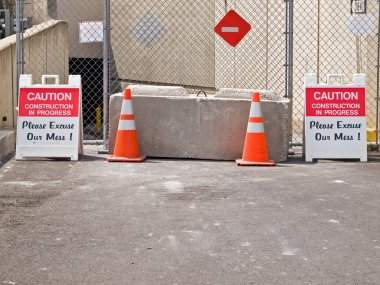 Caution Construction in Process Excuse Our Mess