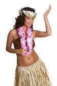 hawaiianische Hula-Tänzerin
