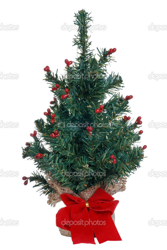 Nep Mini Kerstboom Stockfoto C Mcgphoto 3444411