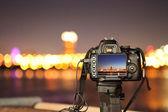 digitale kameras und die stadt nacht