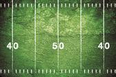 Fotografie Grunge Football Field