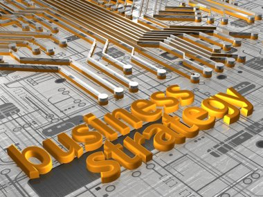Business Strategy - 3D