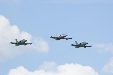 Three jets