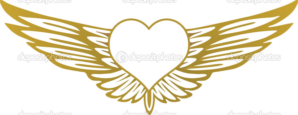 Heart With Wings Stock Vector Scusi0 9 2919032