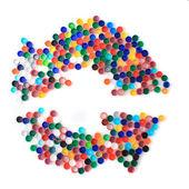 Fényképek Hasznosítsd újra a jelt a műanyag kupakok