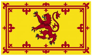 Royal Scottish flag or Standard
