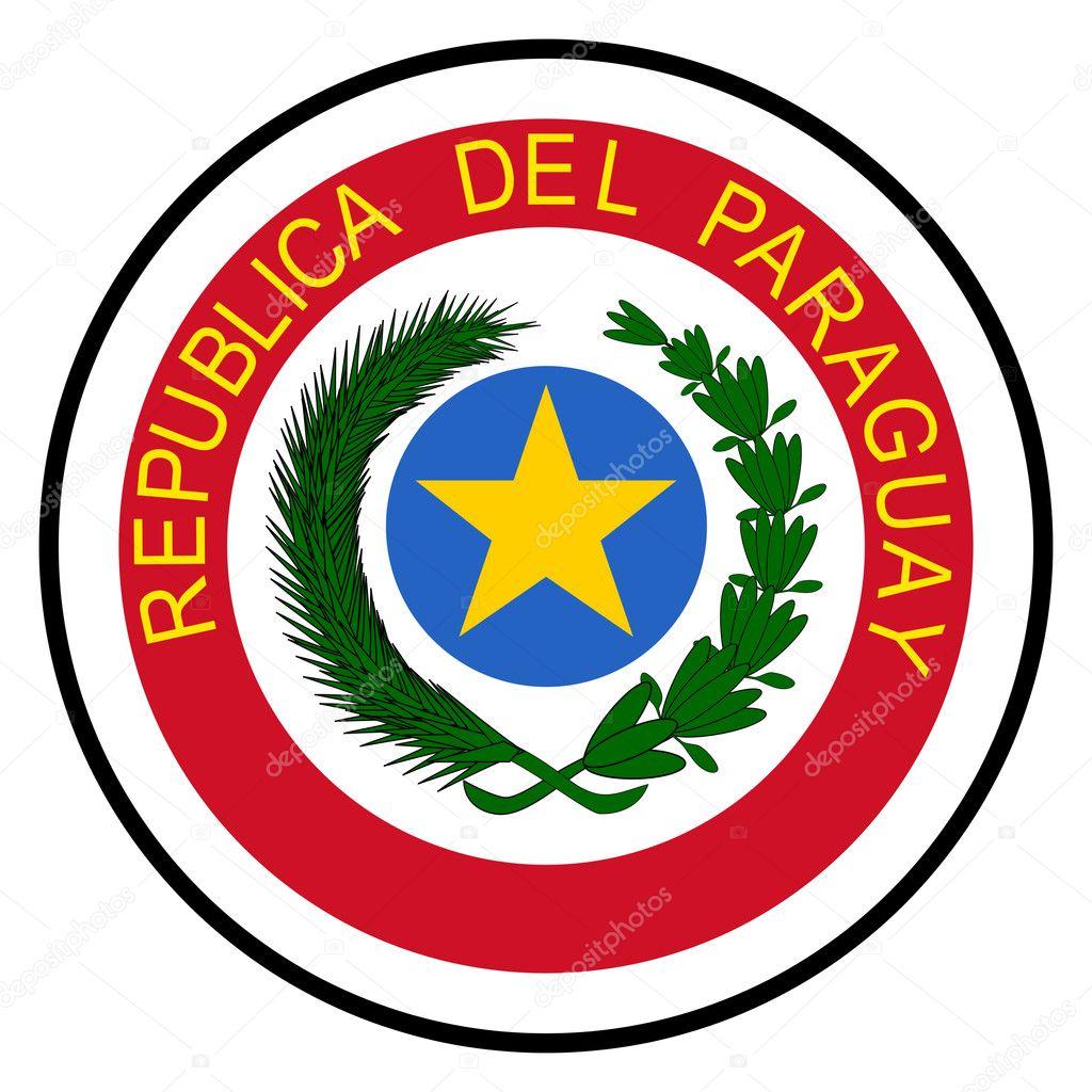 パラグアイの国章 — ストック写...