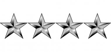 American generals four stars