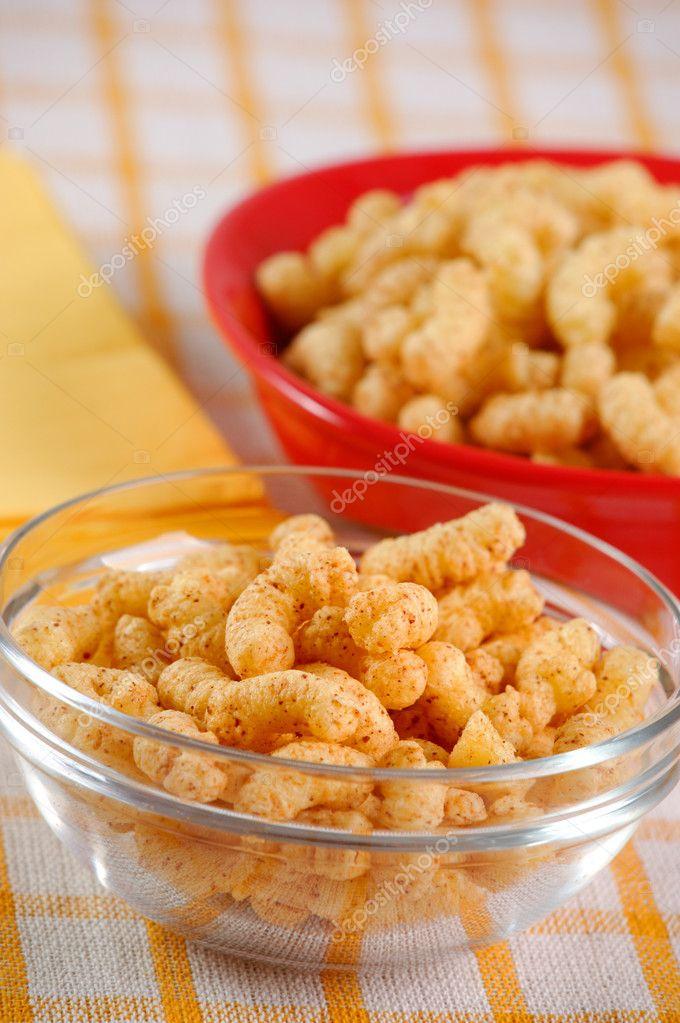 mais-snack mit dekoration — Stockfoto © izmask #2748728
