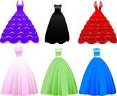 Formális ruha ruha ikonok