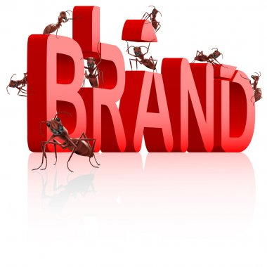 Brand development branding label trademark