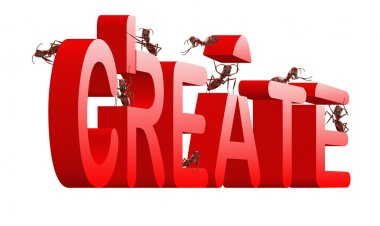 Create realize innovate idea