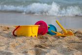 Fotografie Urlaub Bild von Kinder-Strand-Spielzeug