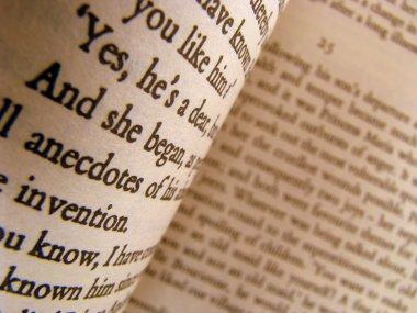 Close-up of a Classic Novel