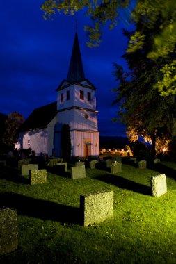 Church, Nes, Norway stock vector