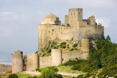Loarre Castle, Huesca Province, Aragon, Spain stock vector