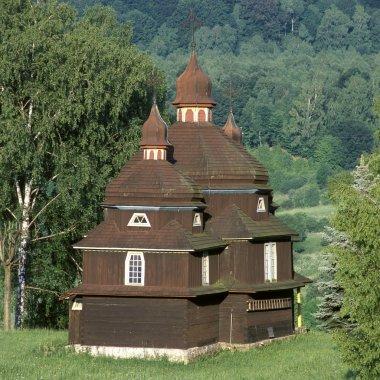Wooden church, Nizny Komarnik, Slovakia