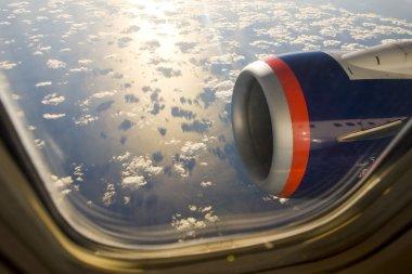 Air transport - plane's motor