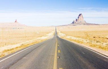 Road, Arizona, USA stock vector