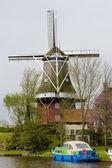 Fotografie větrný mlýn, dokkum, friesland, Nizozemsko