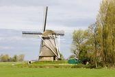 Fotografie větrný mlýn u broeksterwoude