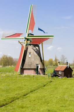 Windmill, Ooievaarsdorp, Netherlands