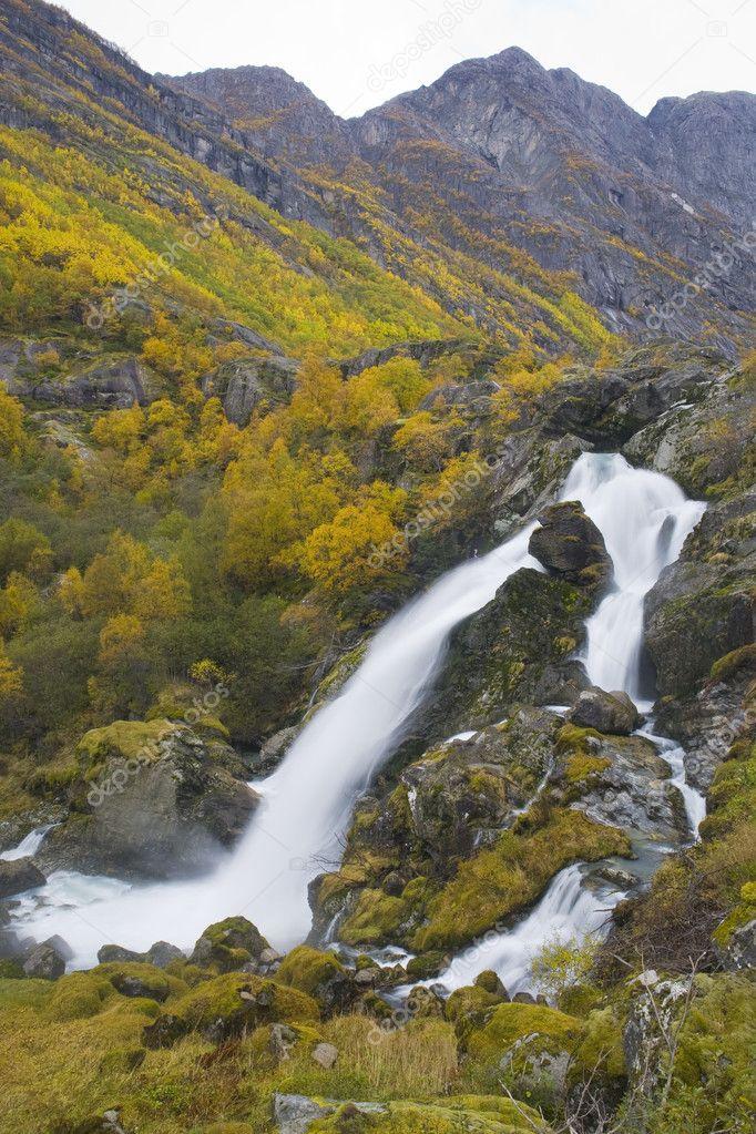 Landscape near Brigsdal, Norway