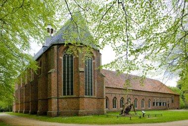 Monastery Ter Apel, Netherlands stock vector