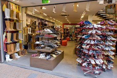 Footwear shop, Amsterdam, Netherlands