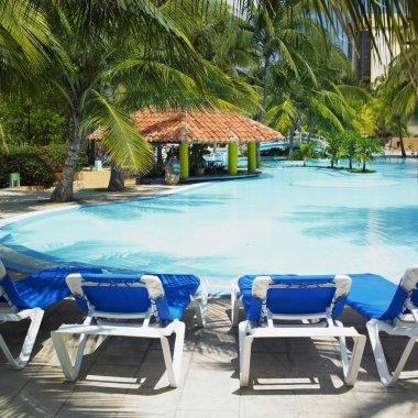 Hotel''s swimming pool, Varadero, Cuba