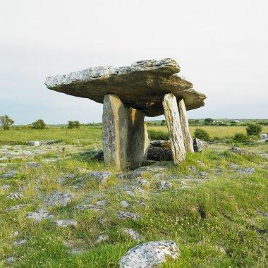 Poulnabrone Dolmen, Burren, County Clare, Ireland