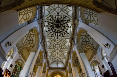 Cathedral''s interior, Zamosc, Poland