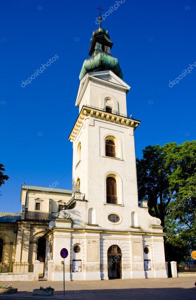 Church in Zamosc, Poland