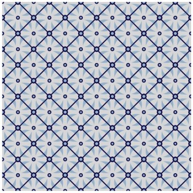 Repeating pattern. The pattern is included as a seamless swatch. Very easy to edit. stock vector